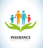 Insurances design Stock Photography