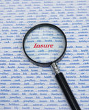 Insure: some of the reasons. Stock Images