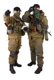 Insurgents with AK 47 Royalty Free Stock Photo