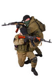 Insurgents with AK 47 Royalty Free Stock Images