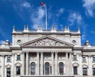 intäkt för byggnadsegenengland hm london Royaltyfria Bilder