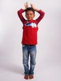 Intégral d'un garçon images libres de droits