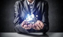 Intégration de nouvelles technologies Photo stock