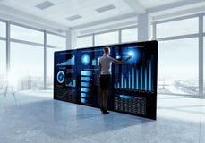 Intégration de nouvelles technologies Photos stock