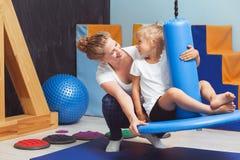 Intégration sensorielle dans la formation Photos stock