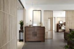 Intérieur à la maison élégant et confortable photos libres de droits