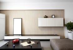 Intérieur à la maison élégant et confortable Images libres de droits