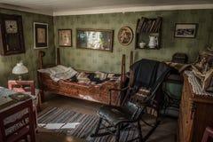 Intérieur à la maison de vintage, Goteborg, Suède Photos stock