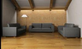 Intérieur à la maison moderne Images stock