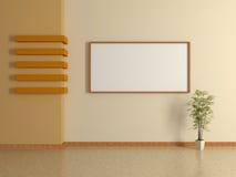 Int rieur la maison moderne avec la peinture 3d illustration stock image 39517373 for Peinture de la maison