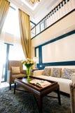Intérieur à la maison moderne de salle de séjour Photo libre de droits