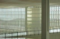 Intérieur 1 d'aéroport Photos libres de droits