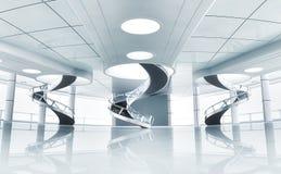 intérieur 3d Image libre de droits