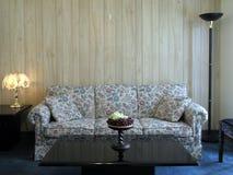 Intérieur 6 de salle de séjour Image libre de droits