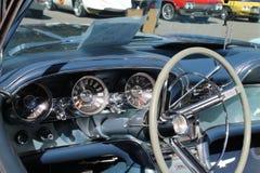 Intérieur américain classique de voiture de sport Photographie stock