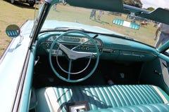 Intérieur américain convertible de luxe classique de voiture Image libre de droits