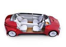 Intérieur autonome coupé du ` s de voiture illustration de vecteur