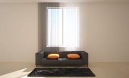 Intérieur avec des meubles Photographie stock