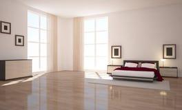Intérieur avec des meubles Images stock