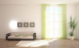 Intérieur avec des meubles Photo stock