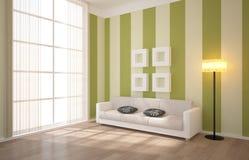 Intérieur avec des meubles Image libre de droits