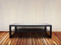 Intérieur avec la table Images stock