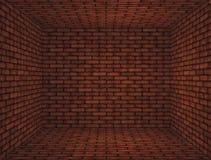 Intérieur avec le mur de briques Image stock