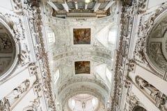 Intérieur baroque Photographie stock libre de droits
