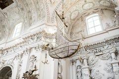 Intérieur baroque Photo stock
