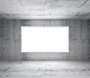 Intérieur blanc abstrait avec les murs en béton illustration libre de droits