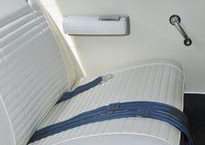 Intérieur blanc de véhicule Photos libres de droits