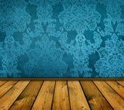 Intérieur bleu pointu de cru Photographie stock libre de droits