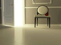 Intérieur classique, appartement de luxe. illustration libre de droits