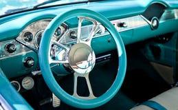 Intérieur classique de voiture de sport Photos libres de droits