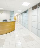 Intérieur commun d'immeuble de bureaux Photographie stock