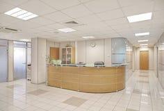 Intérieur commun d'immeuble de bureaux Photo stock