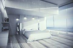 Intérieur confortable de chambre à coucher Photographie stock libre de droits