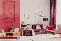 Intérieur décoratif de salon image libre de droits