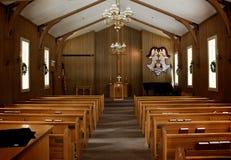 Intérieur d'église Photo stock