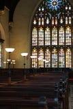 Intérieur d'église Photos libres de droits