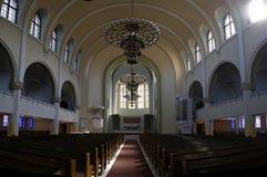 Intérieur d'église de Helsinki Kallio (Kallion Kirkko) Image libre de droits