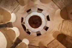 Intérieur d'église de St Donat dans Zadar Photographie stock