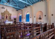 Intérieur d'église de Vinales Photographie stock libre de droits