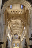 Intérieur d'église, Oxford, Angleterre images stock