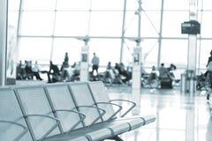 Intérieur d'aéroport à Bruxelles Image stock