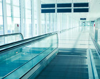 Intérieur d'aéroport Photos stock