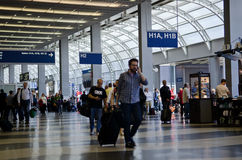 Intérieur d'aéroport Images stock