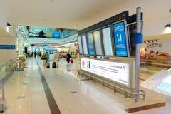 Intérieur d'aéroport Image stock