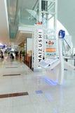 Intérieur d'aéroport Photographie stock