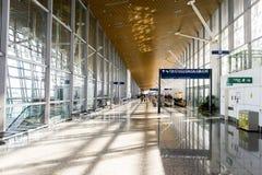 Intérieur d'aéroport Photographie stock libre de droits